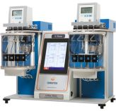 Automated Houillon viscometer for petroleum products